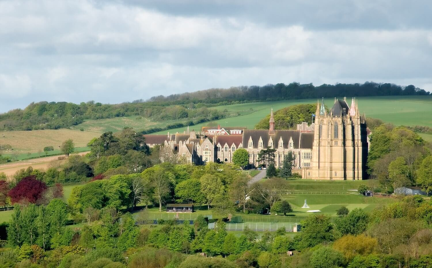Lancing college venue in south uk for nike hockey camps