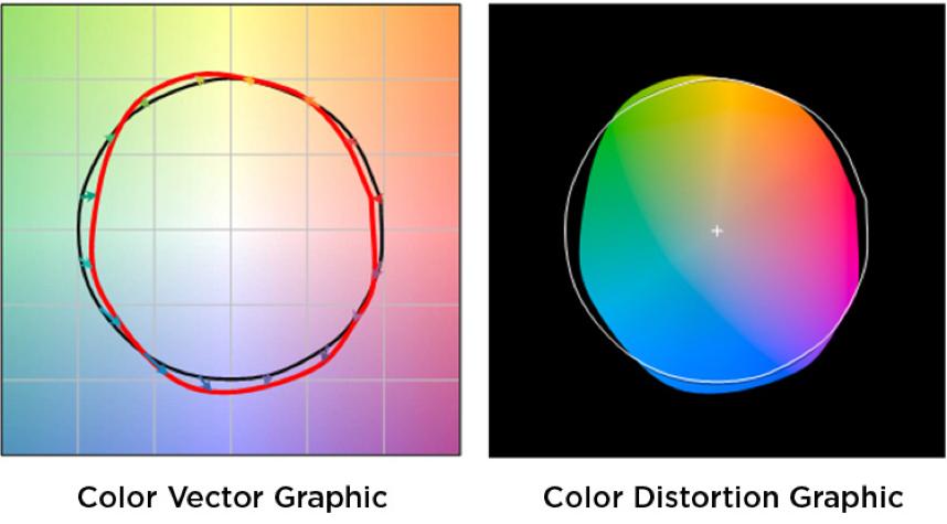 Color Vector Color Distortion
