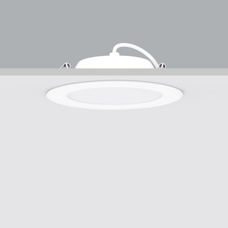 Foco Tipo PL LED o Downlight LED.