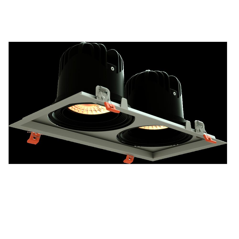 VENTAJAS - Diseño: Pequeño y funcionalEficiencia LED: Hasta 130 Lm/WIluminación: AcentoInstalación: Integrado en LuminariasAusencia: IR y UV