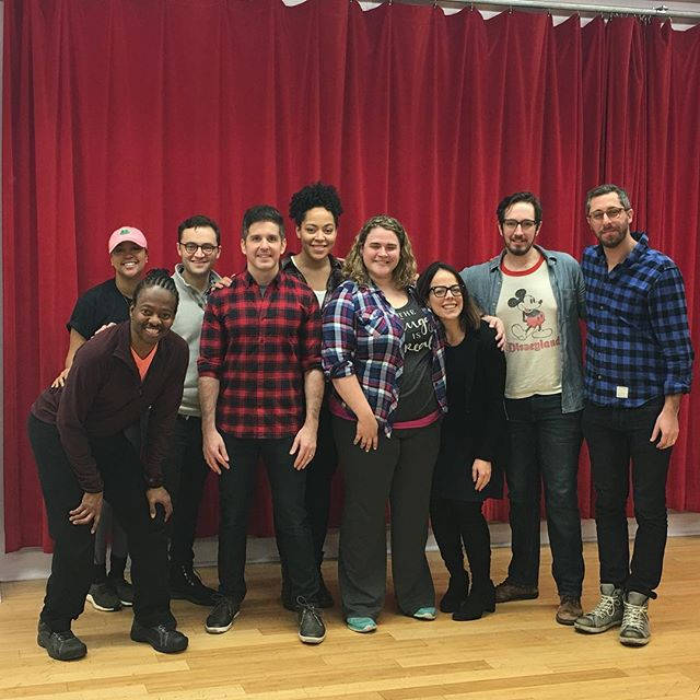 A great day with a great company.  Thanks to @lesliekritzer @beltingbons @howiemichaelsmith and @lilcoopz for stellar work on the Wait Wait Don't Kill Me rehearsal shoot!  Kudos to the incredible creative team @donteatdaveholstein @alanschmuckler @kevinasarobot Byron Easley, Madeline Smith and Lauren EJ Hamilton.  #wwdkm