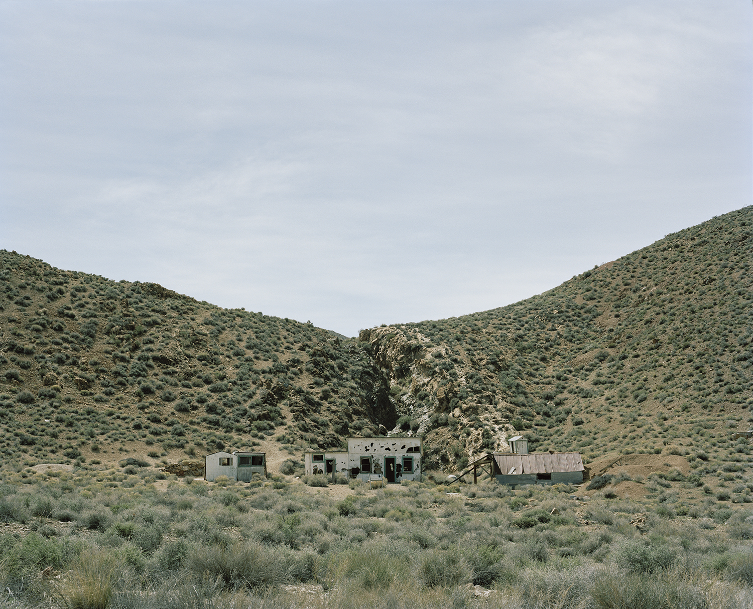 The Aguereberry Site, Panamint Range, Mojave Desert, Inyo County, California, USA.