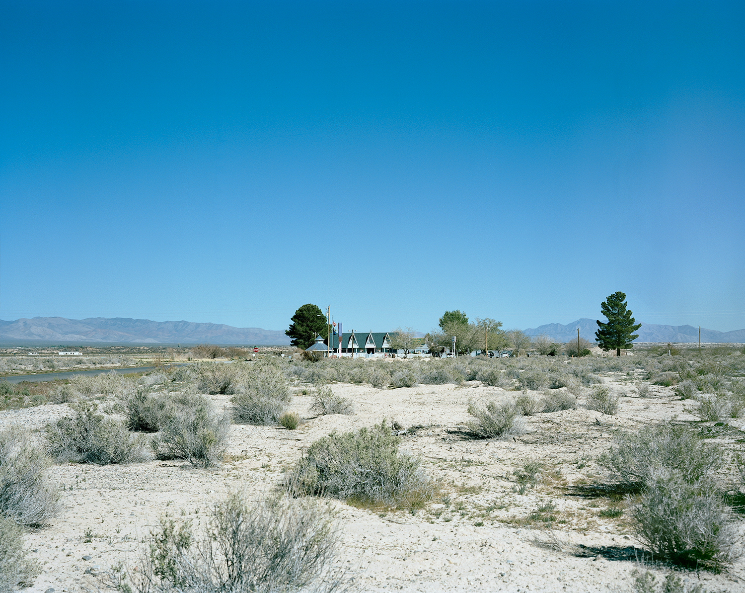 The Chicken Ranch Brothel, Homestead Rd, Pahrump, Nevada, USA.