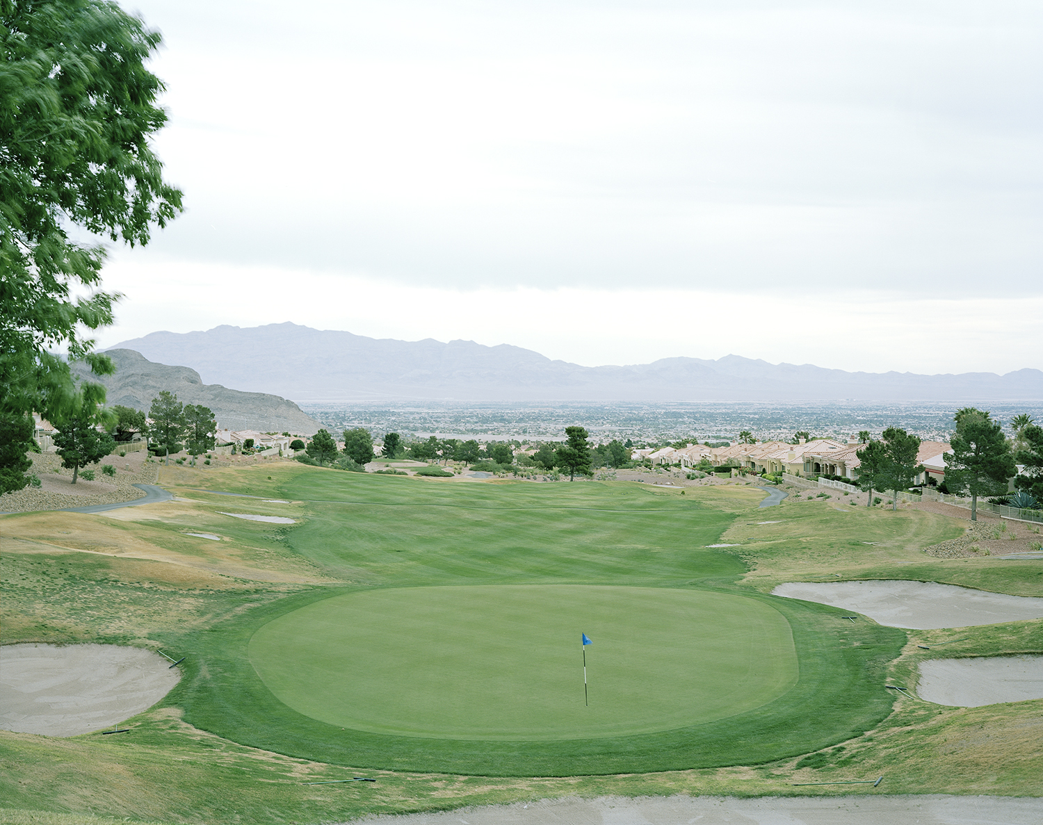 Highland Falls Golf Club, Sun City Blvd, Summerlin, Nevada, USA.