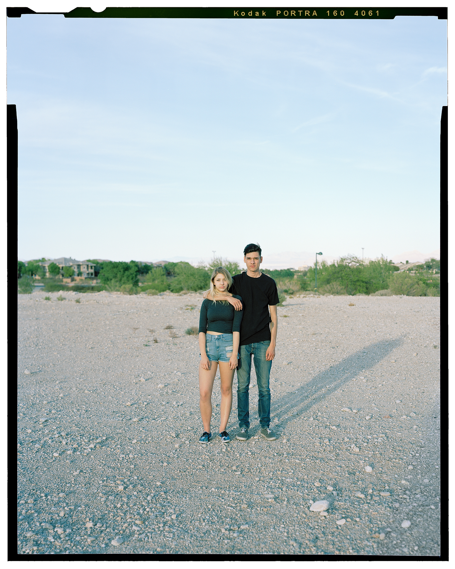 Hayli & Jeremias, 'The Pit', Desert Park, Summerlin, Nevada, USA.