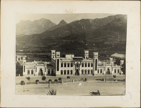 The Tétouan Railway Station, currently the Center of Modern Art, 20th century