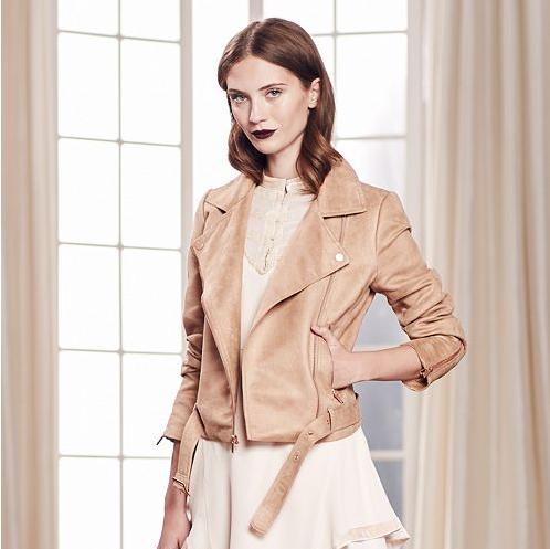 Emily Essentially | Fashion | Kohl's - LC Lauren Conrad Faux-Suede Moto Jacket