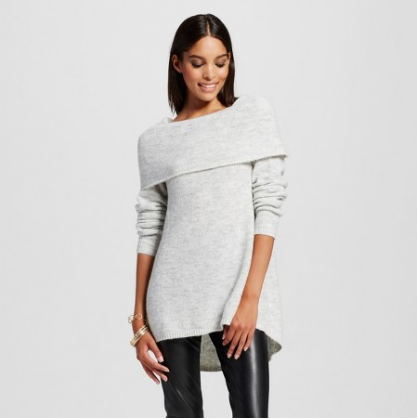 Emily Essentially | Fashion | Target - Mossimo Off-The-Shoulder Sweater