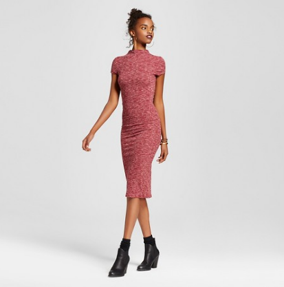 Emily Essentially | Fashion | Target - Almost Famous High Neck Ribbed Dress