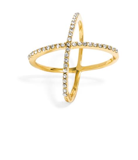 Emily Essentially | Fashion | Bauble Bar - Crystal Mason Ring