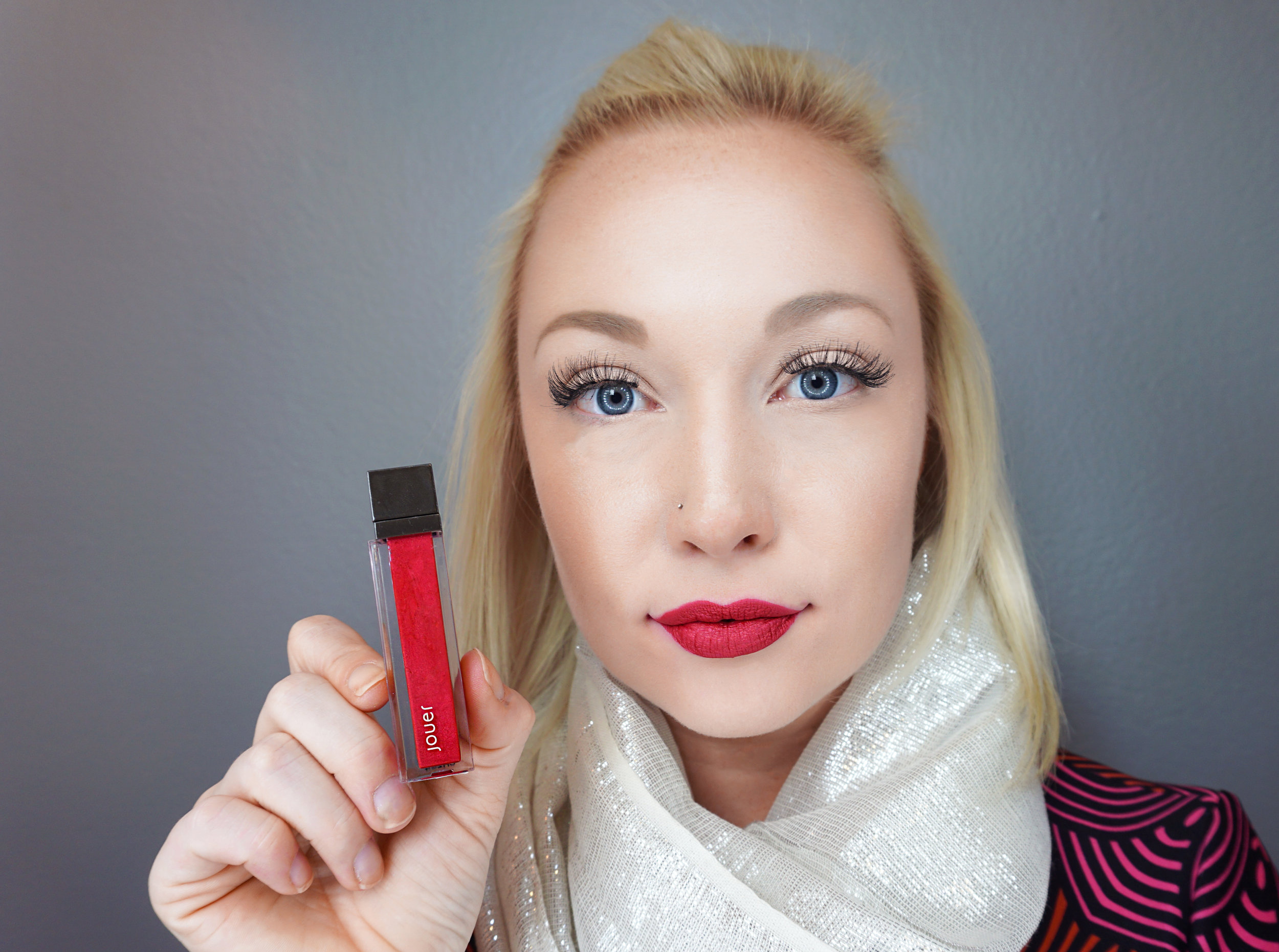 Emily Essentially   Beauty   Best Holiday Red Lippies - JOUER - Cranberry