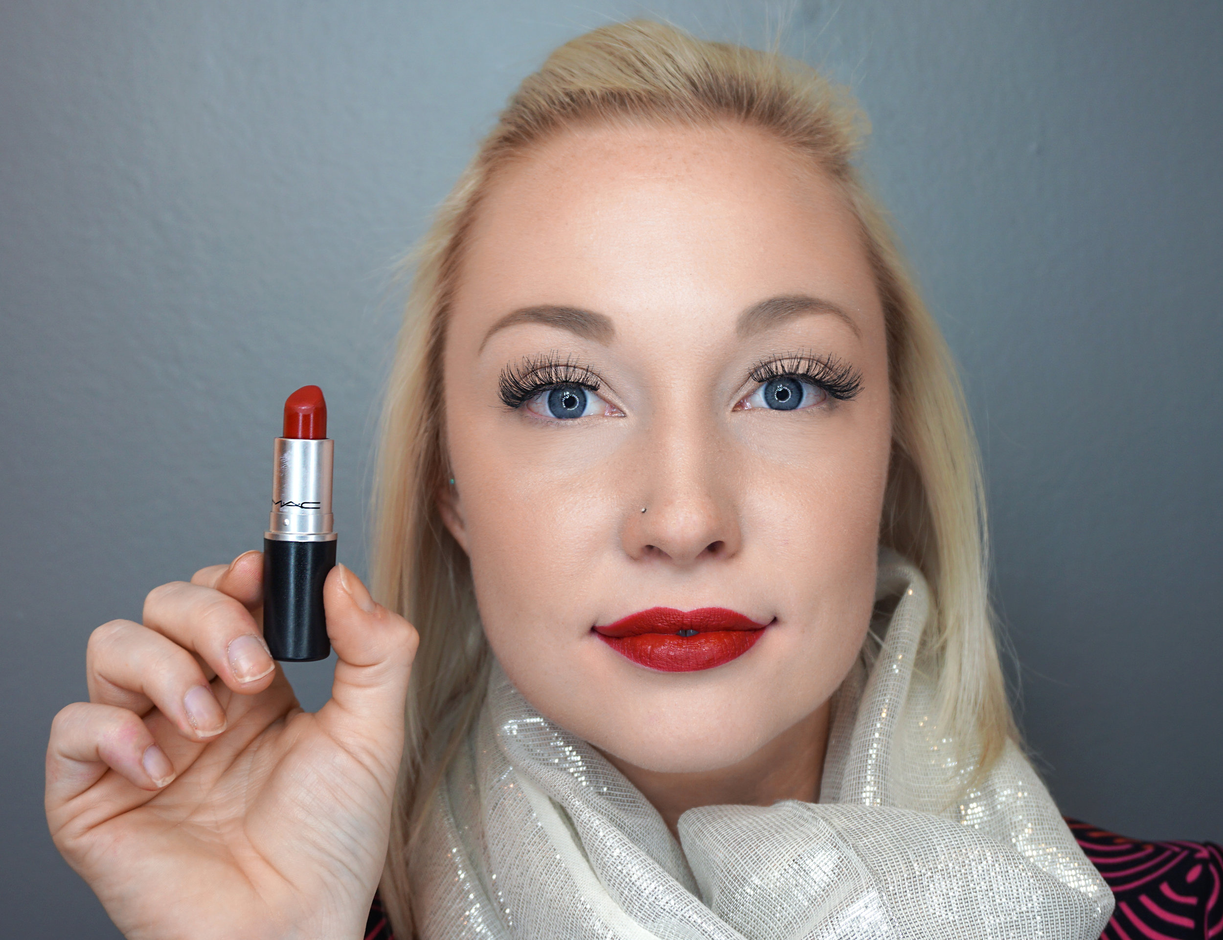 Emily Essentially   Beauty   Best Holiday Red Lippies - MAC - Russian Red