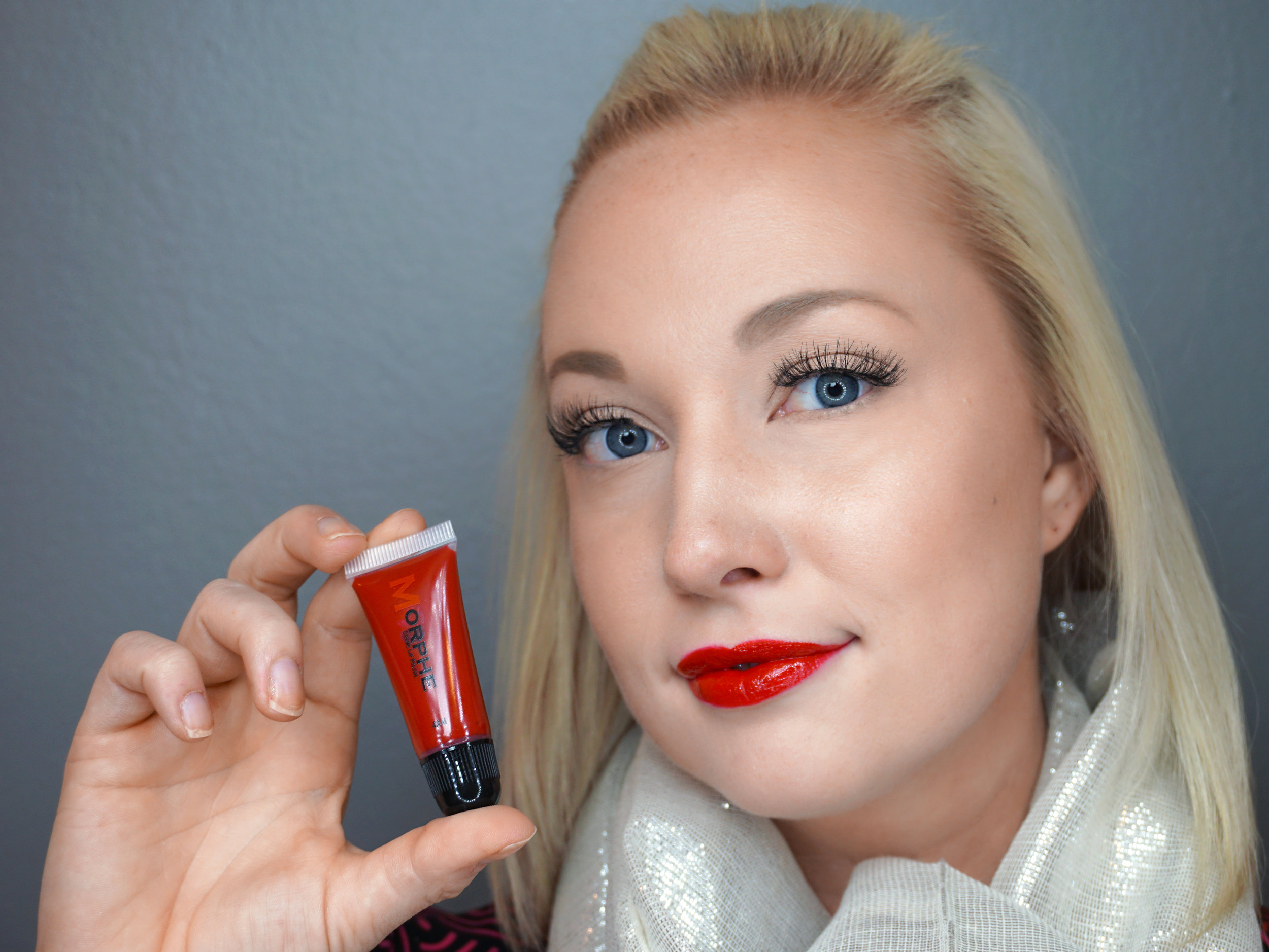 Emily Essentially   Beauty   Best Holiday Red Lippies - MORPHE - 4AM