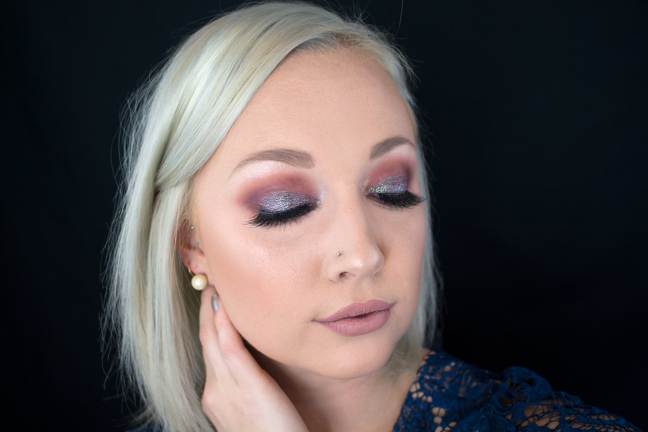 Emily Essentially | Beauty | Colorful & Glittery Smokey Eye Tutorial