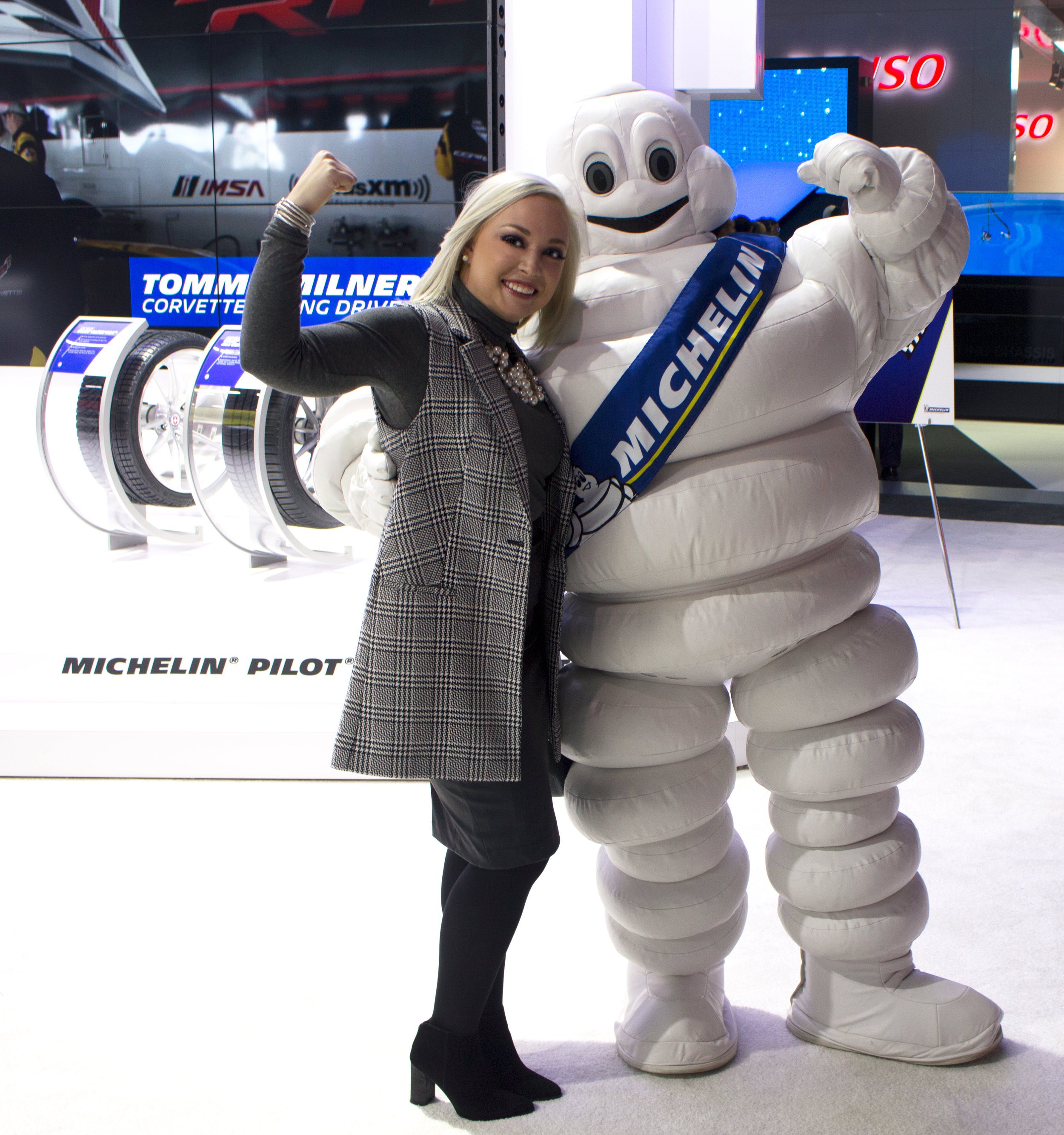 Emily Essentially | Lifestyle | NAIAS 2017 Michelin Tire Exhibit