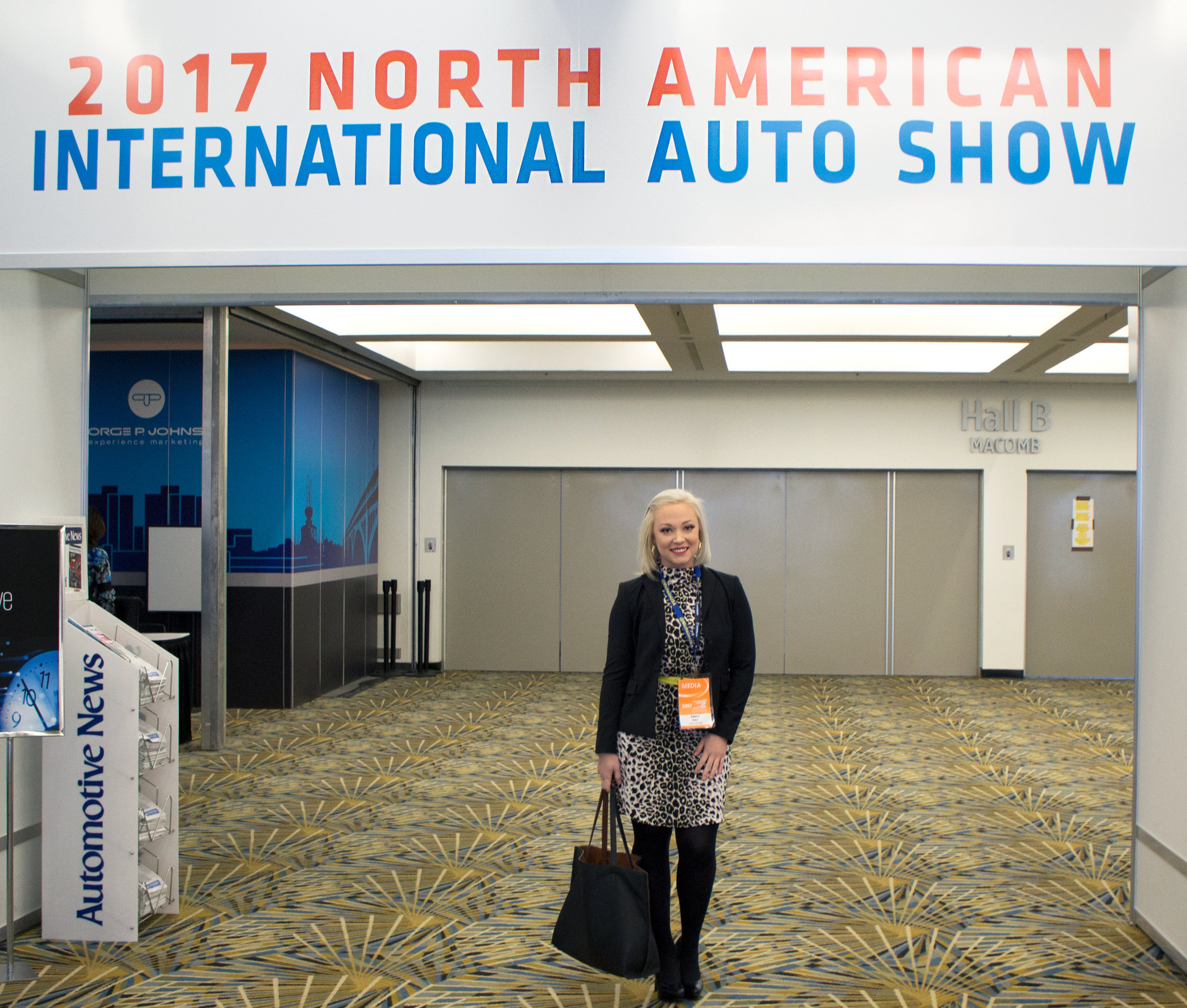 Emily Essentially | Lifestyle | NAIAS 2017