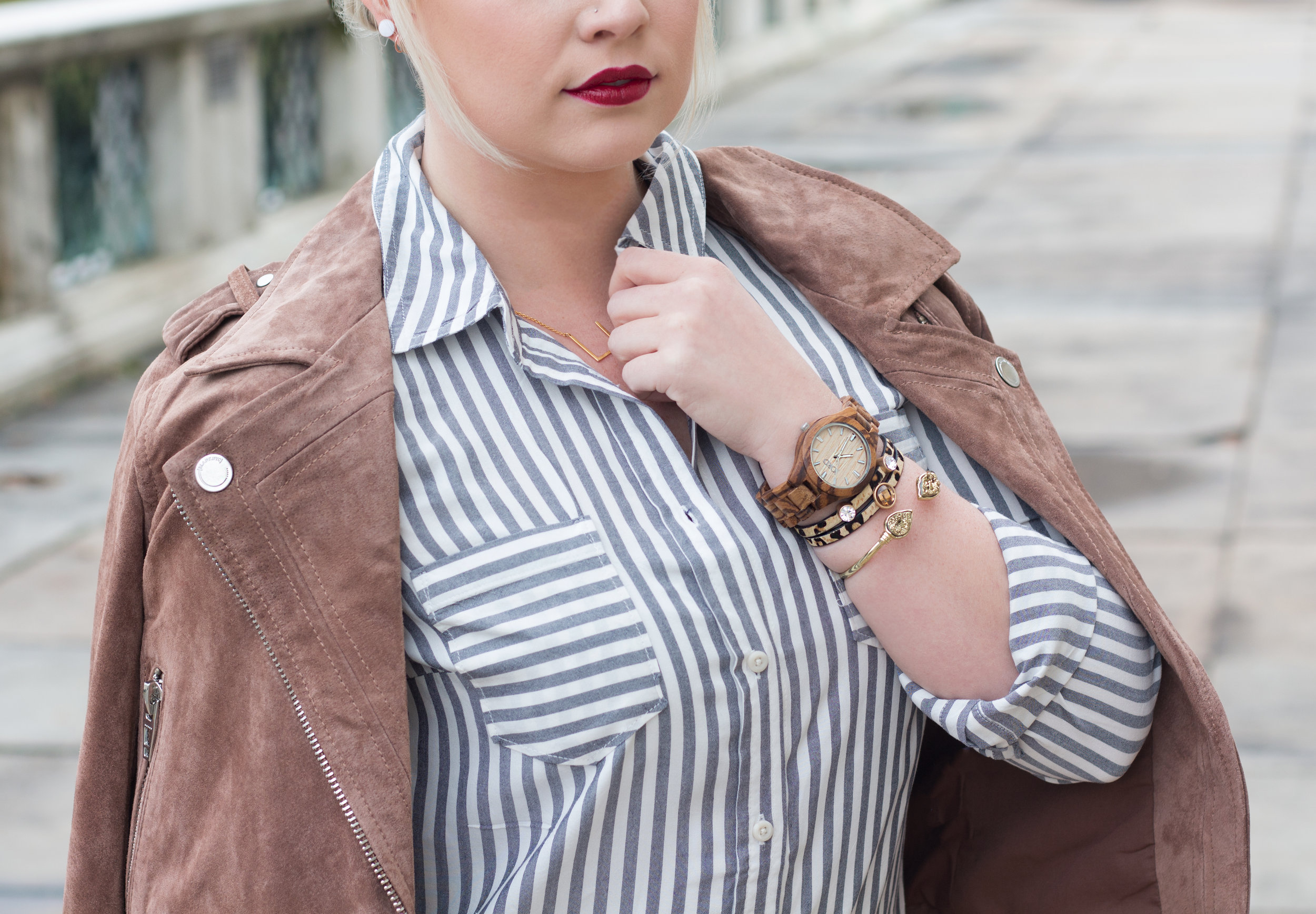 Emily Essentially | Fashion | JORD Wood Watch