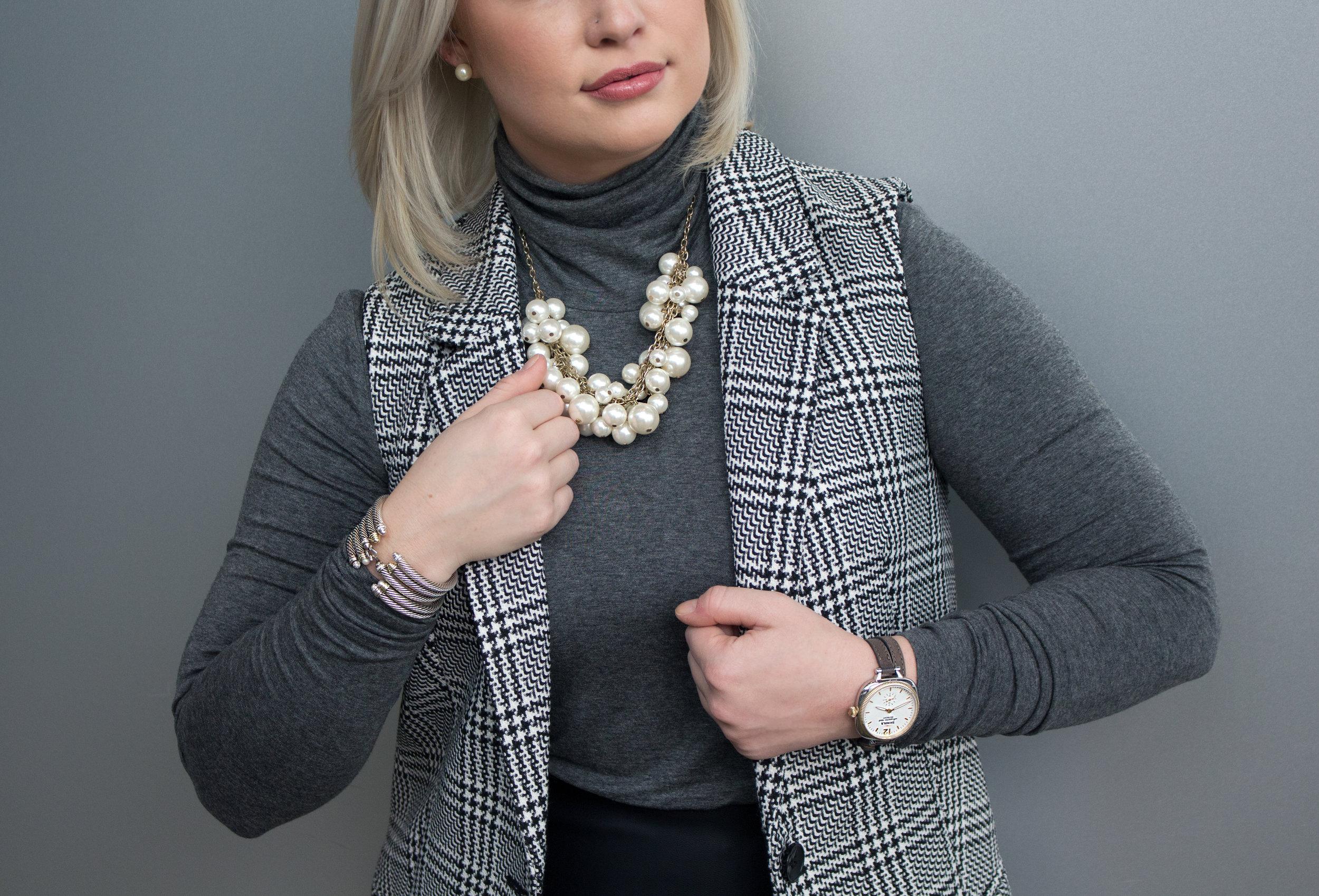 Emily Essentially   Fashion   Edgy Vest