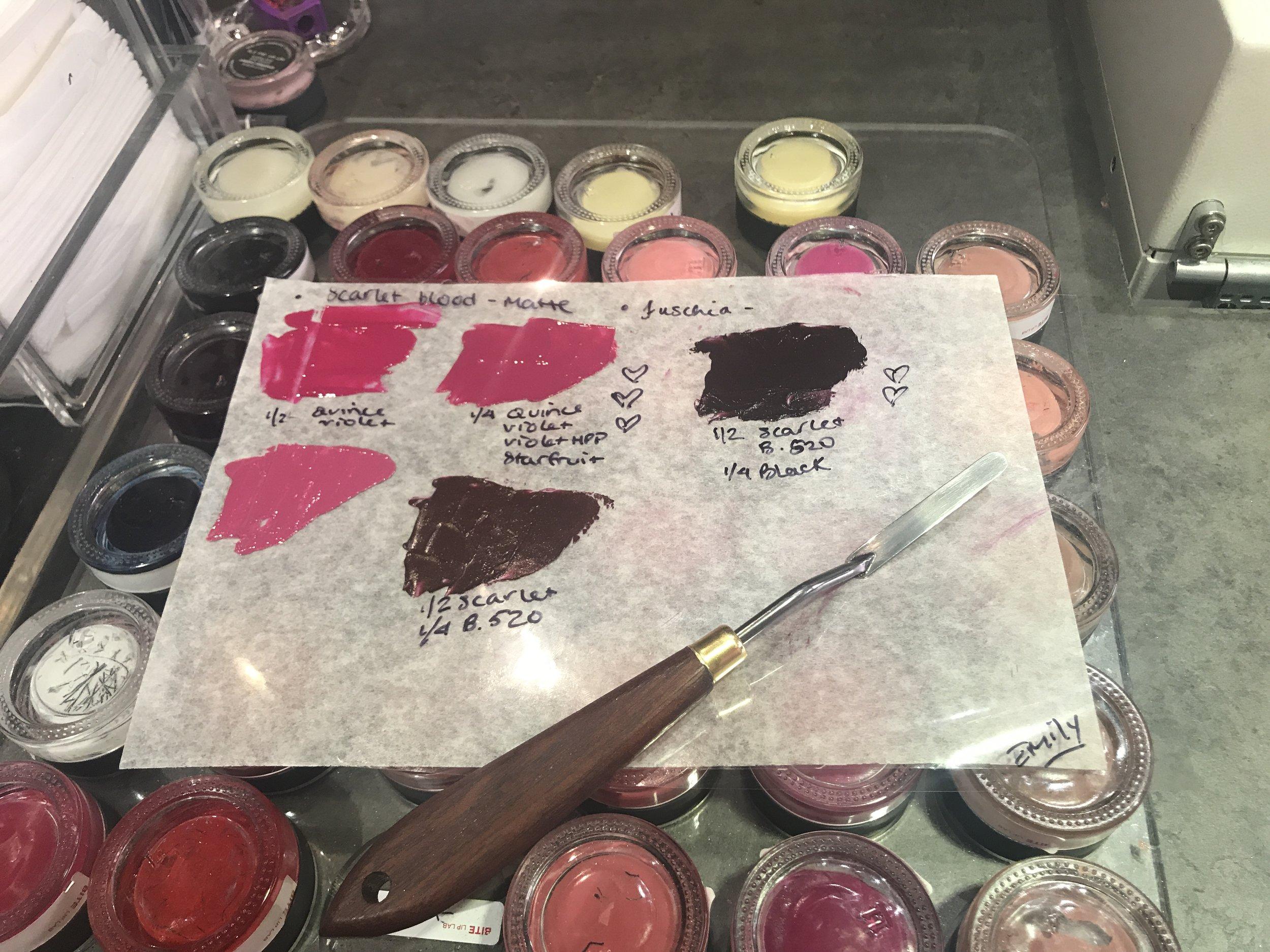 My Bespoke Lipsticks