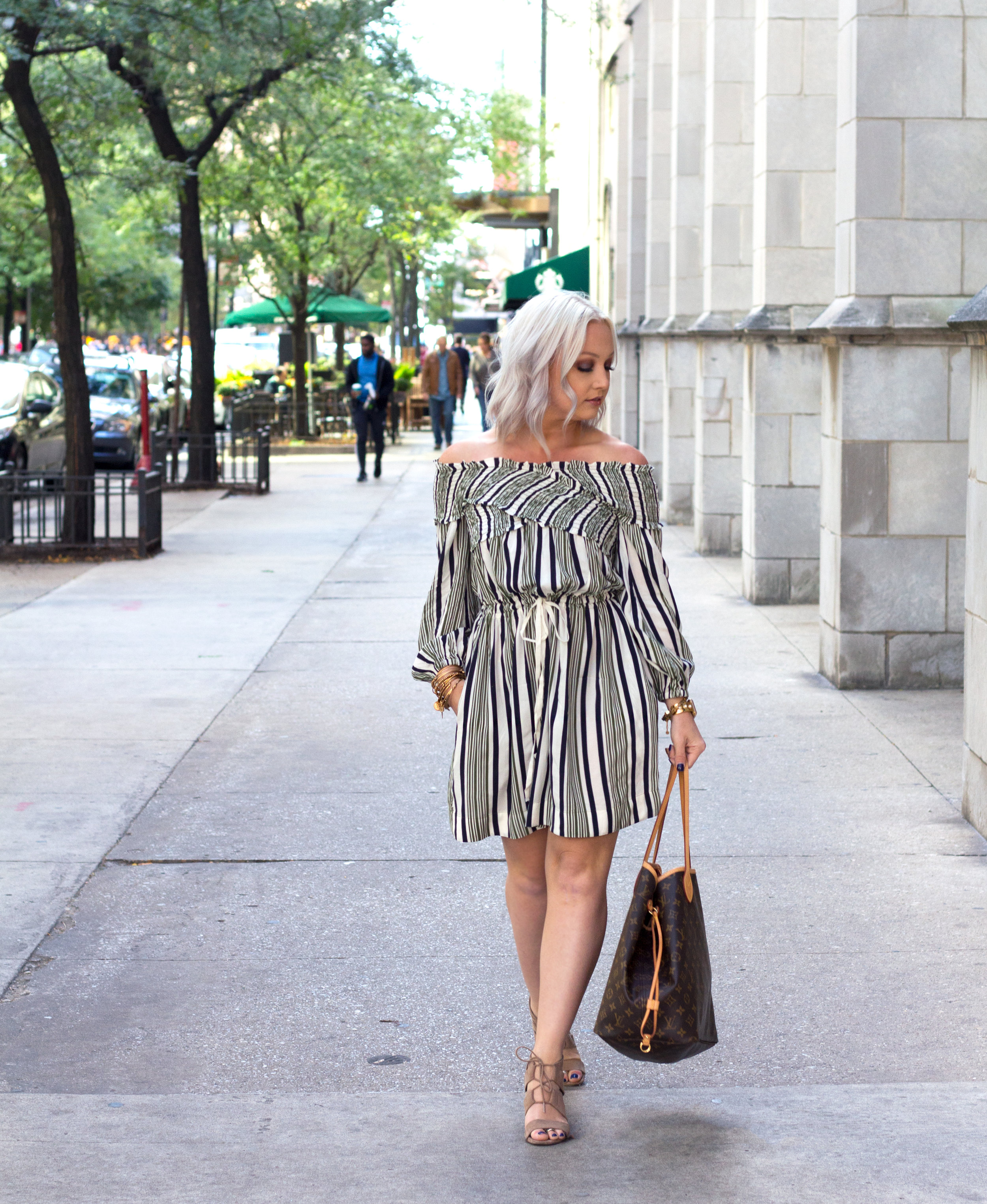 Emily Essentially | Fashion | Windy City Stripes