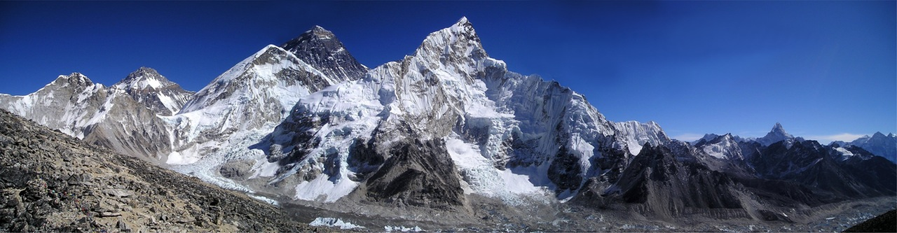 Everest and Nuptse.