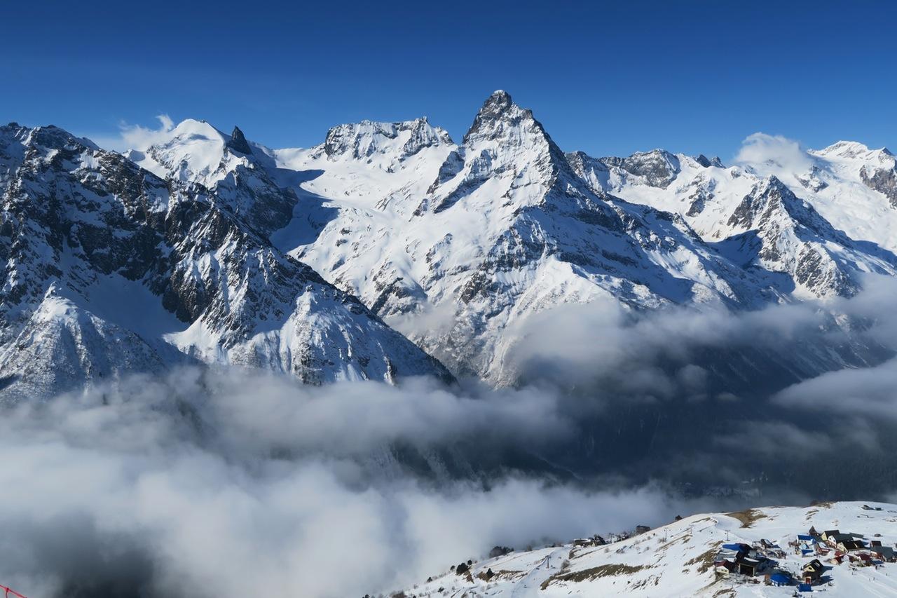 Monte Rosa, Breithorn & Matterhorn.