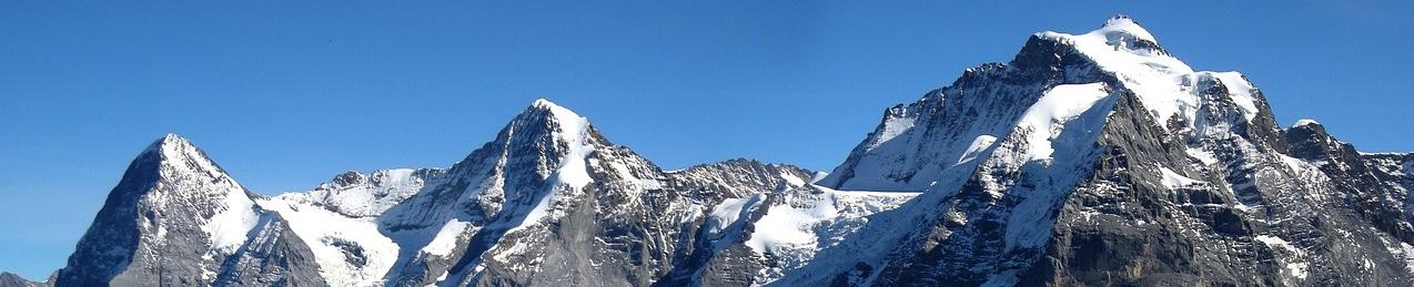 Eiger, Mönch and Jungfrau.