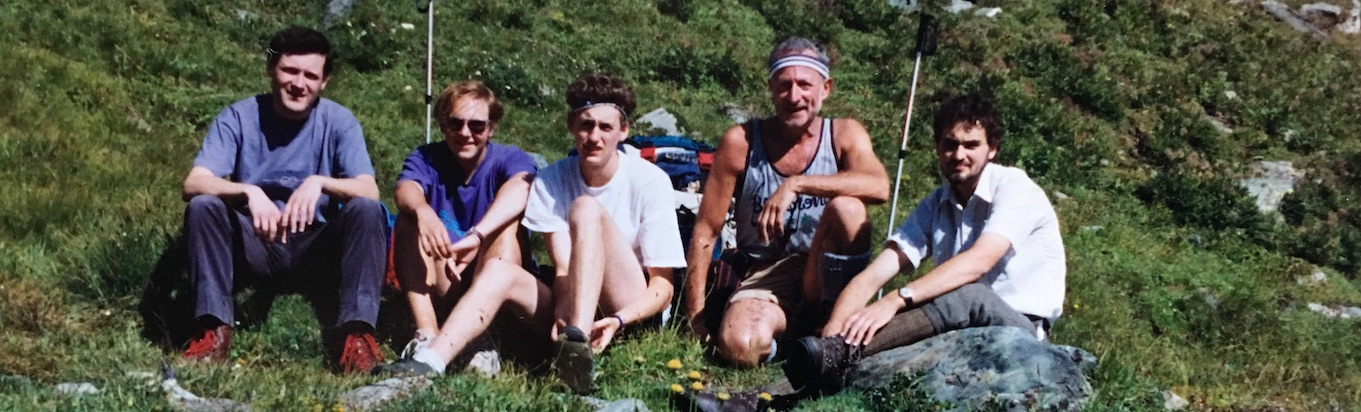 Different generations. Back in '93, when being really, really thin and pale was cool!