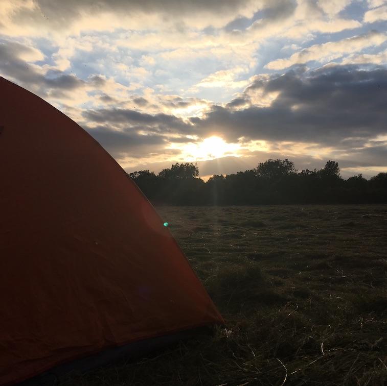 sunset on tent.jpg