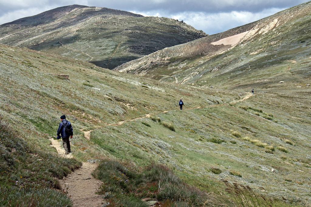 Path to Mount Kosciuszko