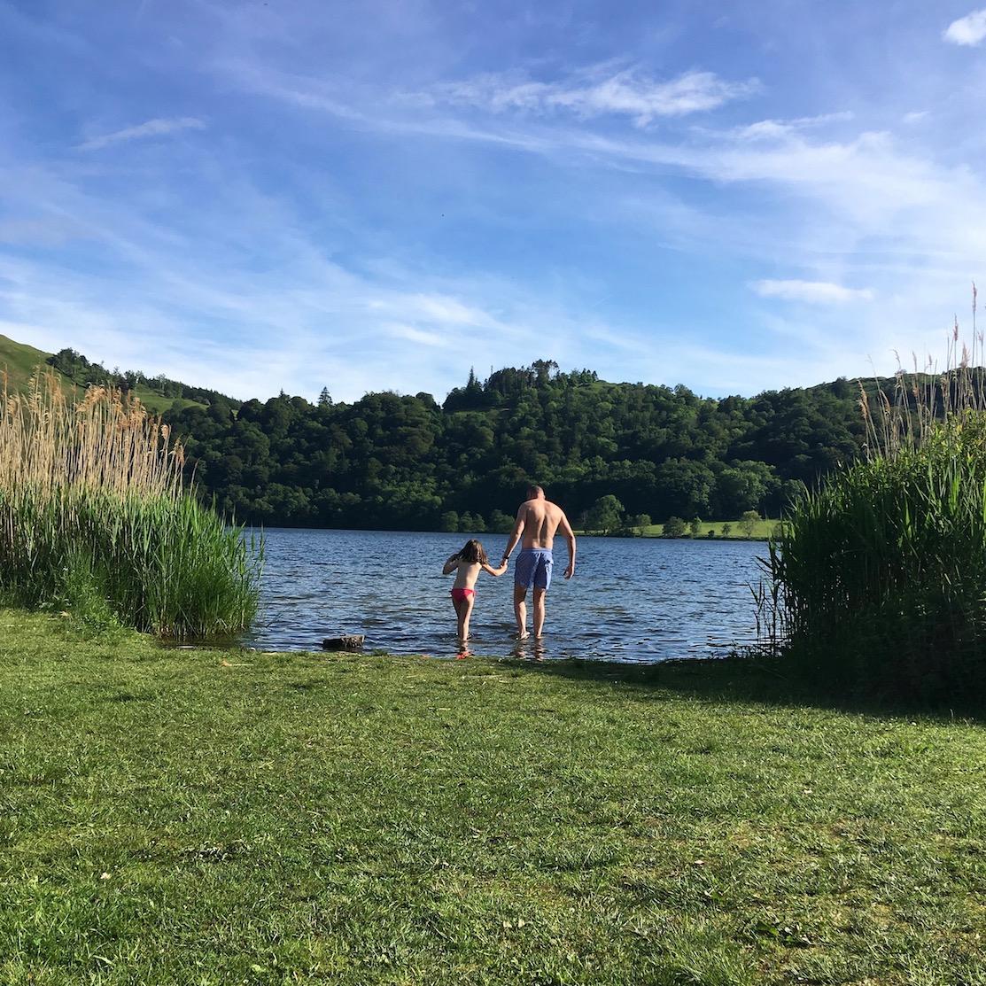 wild swimming lake district 30 days wild