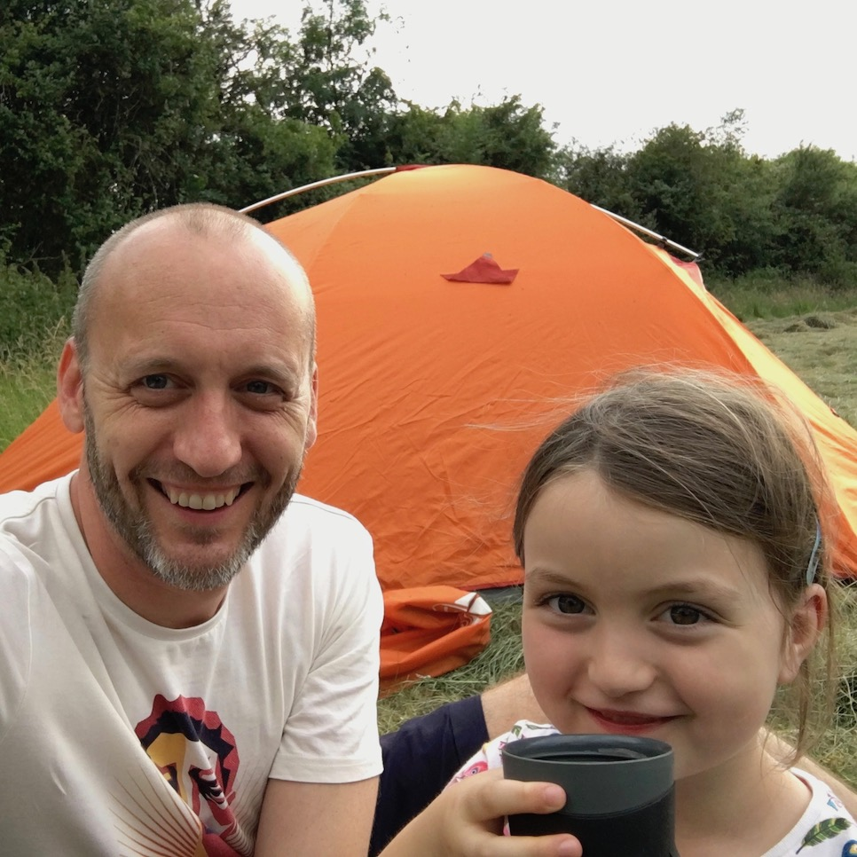 30 days wild camping