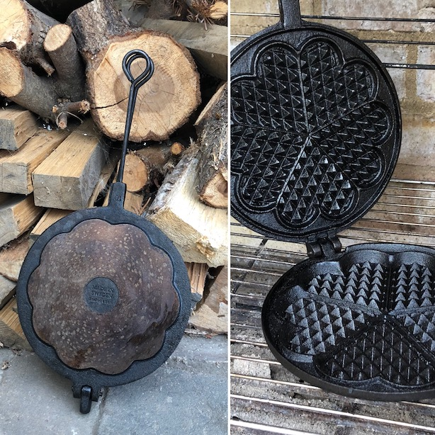 skeppshult waffle iron outdoor cooking.JPG
