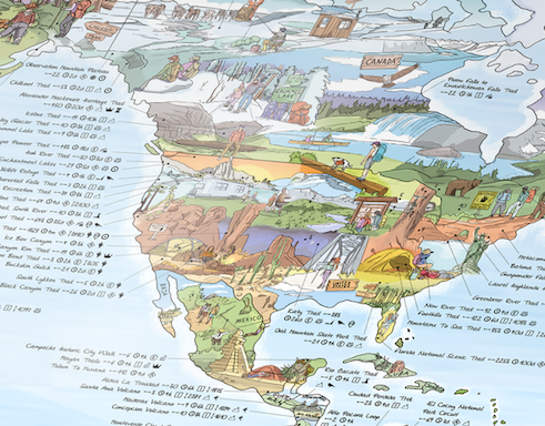 usa hiking walks wall map.png
