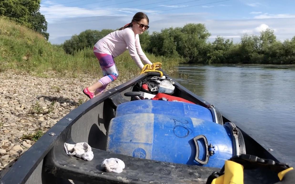 canoeing wye river symonds yat ross on wye hoarwithy kayak canoe camping adventure launching canoe.jpg