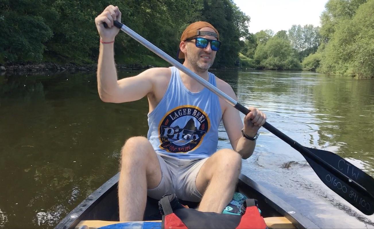 canoeing wye river symonds yat ross on wye hoarwithy kayak canoe camping adventure selfie paddling.jpg