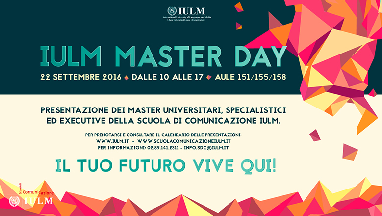 IULM MASTER DAY GAME/PLAY