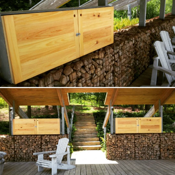 Copy of Custom Cypress Cabinents