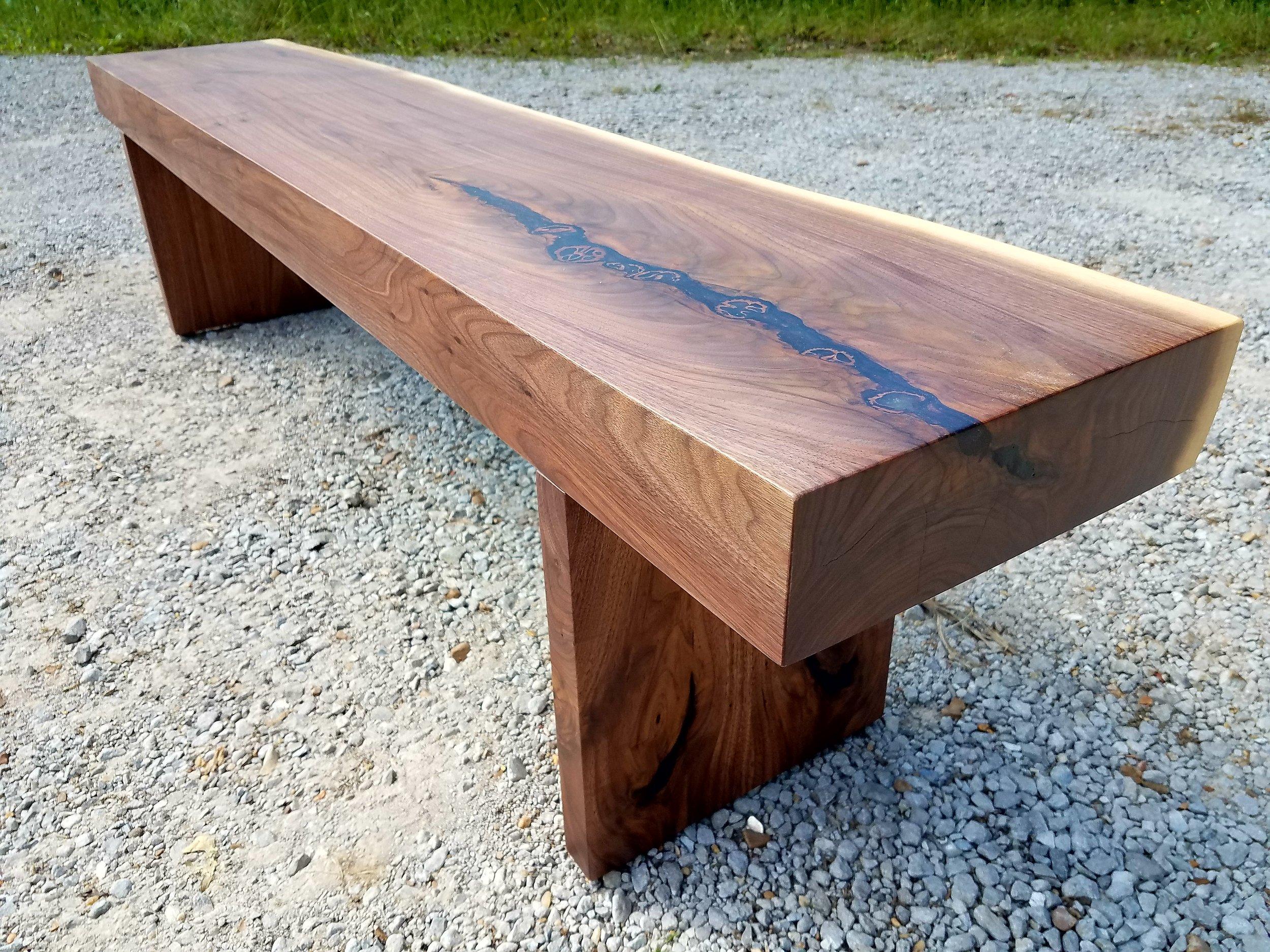 Copy of Walnut Bench