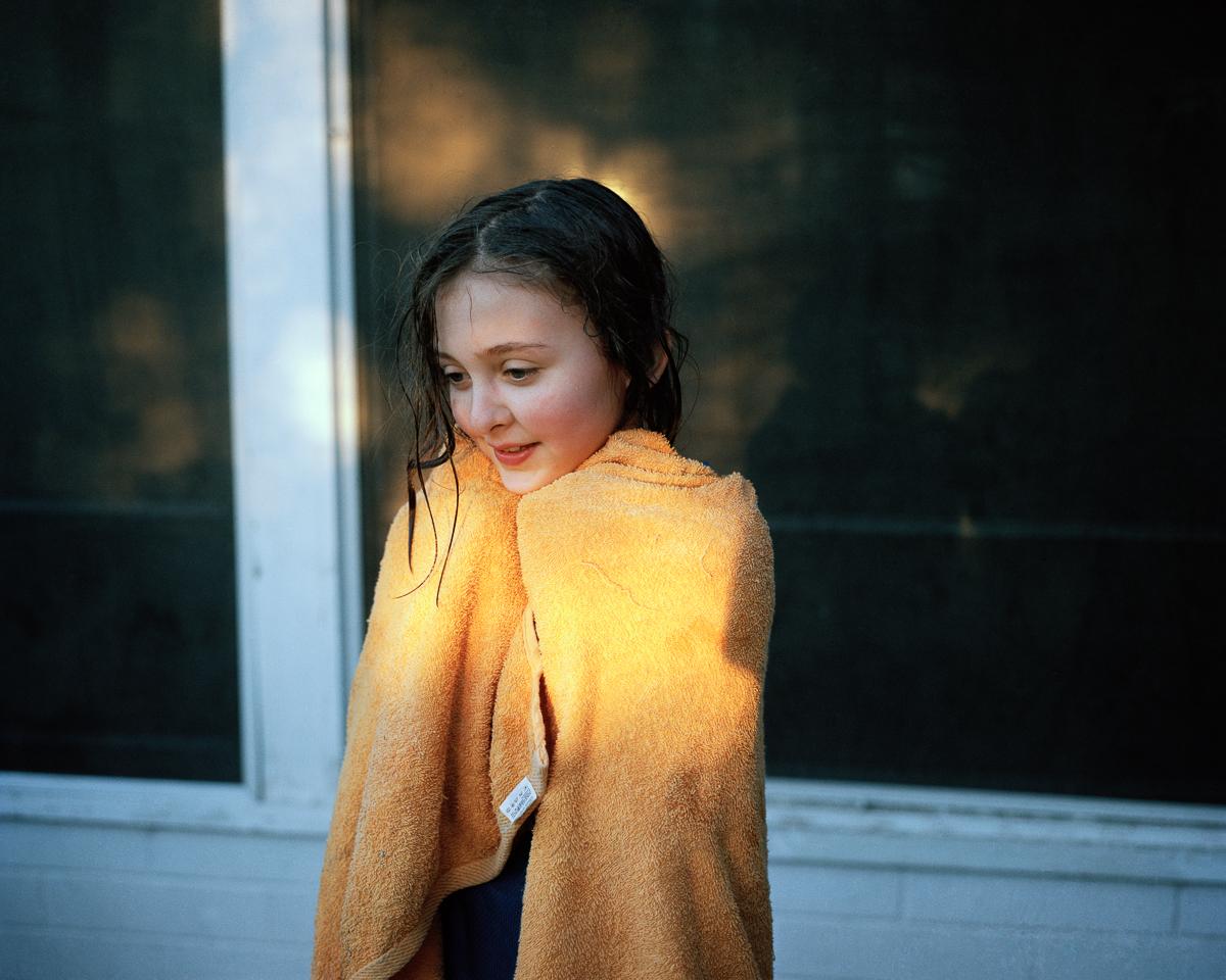 Orange Towel, 2008