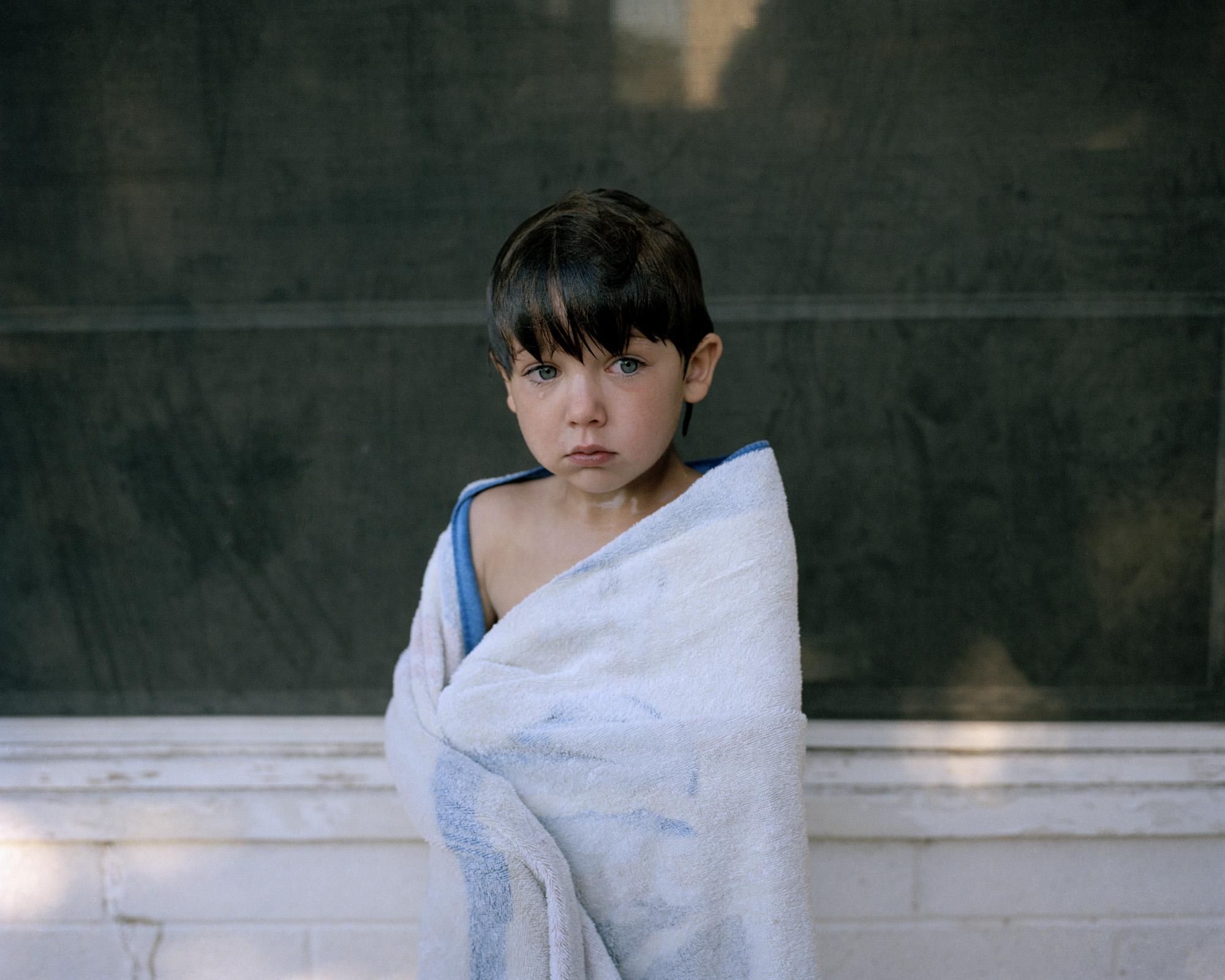 Blue Towel, 2008