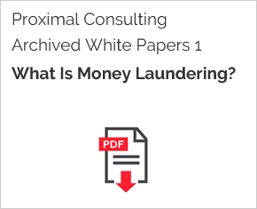 Archived White Paper  1: What Is Money Laundering?