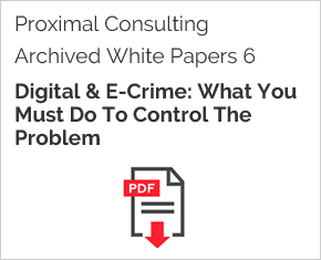 Archived White Paper  6: Digital & E-Crime: What You Must Do To Control The Problem