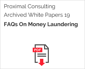 Archived White Paper  19: Faqs On Money Laundering