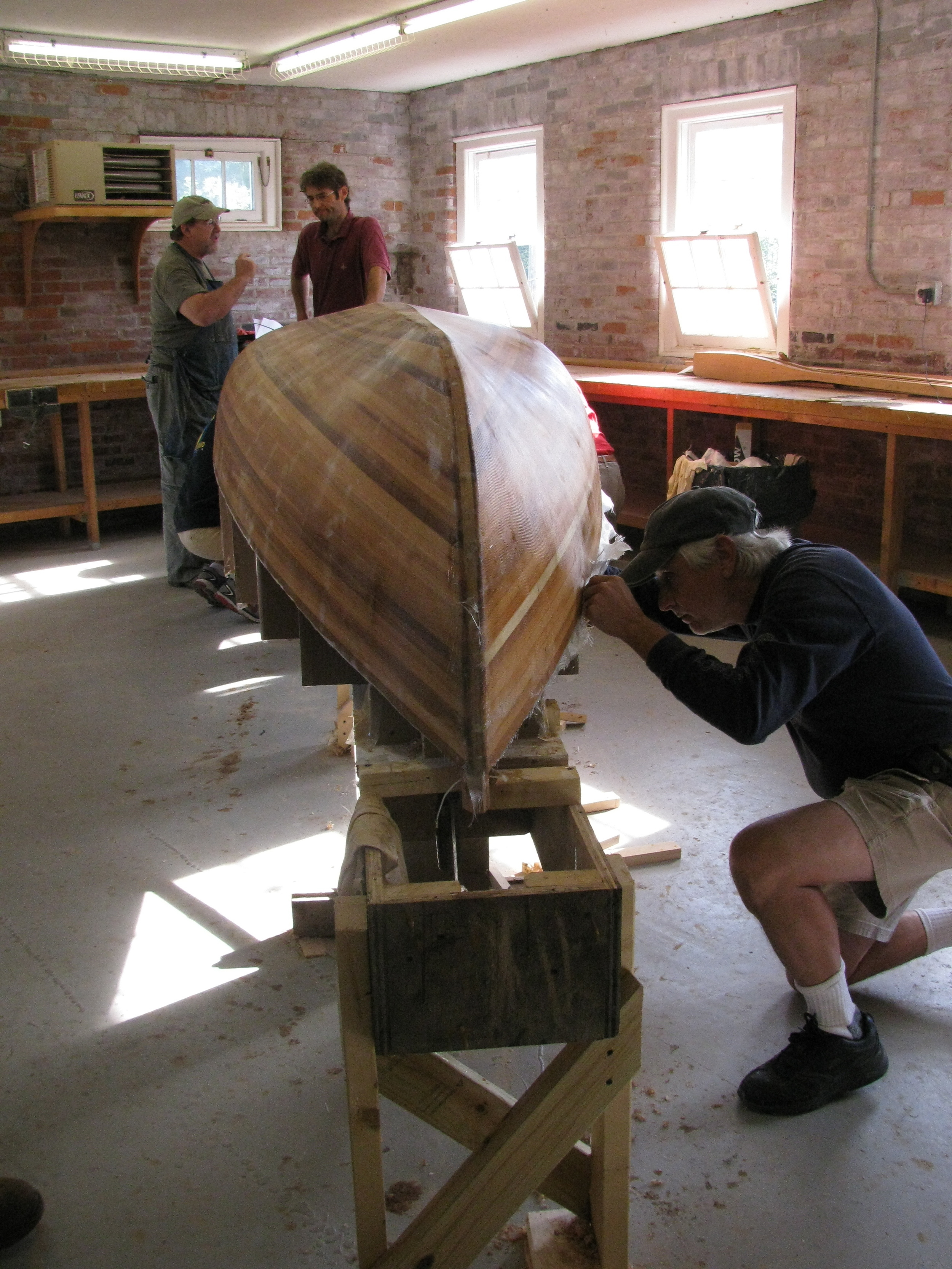 Building the Fry at WoodenBoat School 2012