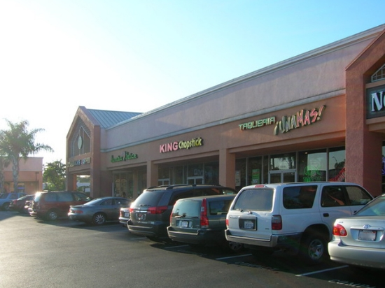 Typical Shopping Plaza