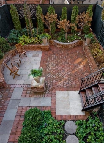Patio block design from Pinterest