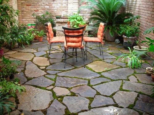 Flagstone Patio from Pinterest