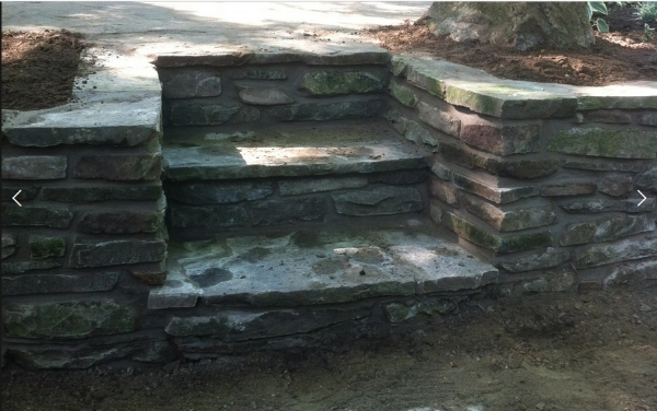 One of the many beautiful projects Blackwell Masonry has done. Click  here  to see more samples of their work.