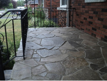 Here is a sample of J & A Masonry's lovely stonework. Click  here  to see more of their projects.